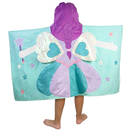 Hooded Towel For Kids, Oversize Cotton Character Hood Towel - Makes Getting Dry Fun - Ideal Beach Towels for Toddlers and Small Children - Use at the Pool or Bath Time, 26 x 47