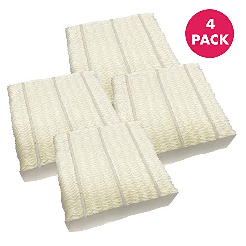 Super Replacement Wick - Think Crucial Replacement Humidifier Filters Compatible with Aircare 1043 Paper Wick Humidifier Filter Part #1043-10.8