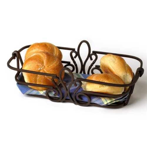 Spectrum Diversified Patrice Bread Basket, Bronze Finish by Spectrum Diversified (Image #1)