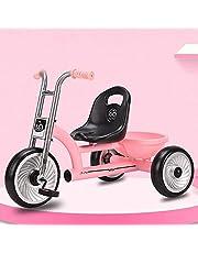 Trike Kids Trike, Kids Tricycles for 1-6 Years Old, 3 Wheel Toddler Bike, Boys Girls Trikes for Toddler Tricycles Baby Bike Trike Upgrade,Red,Titanium