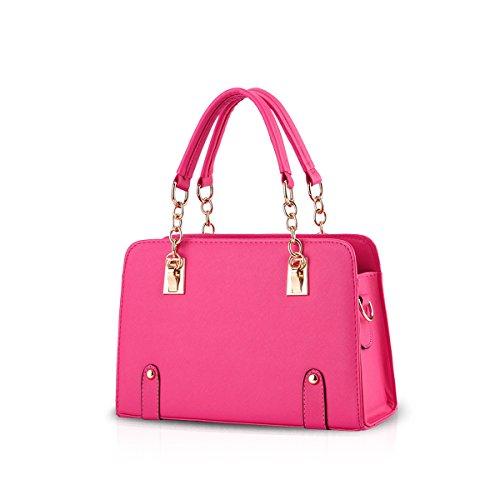 New à Fashion Red bandoulière Doris Rose Sac Chain Women Nicole q7S5Zw
