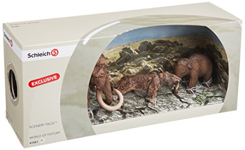 Schleich 41361 Retired Prehistoric Box Set Wooly Mammoth 16517 Smilodon 16520