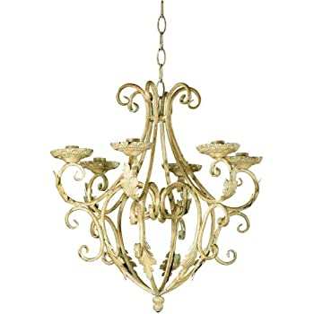 Gifts & Decor Wrought Iron Royalty's Candleholder Chandelier