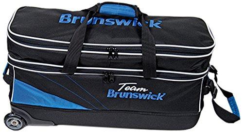 Brunswick 59104122Wagen 3Kugeln, Unisex Erwachsene, Blau, Einheitsgröße