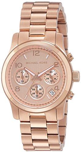 Michael Kors Women's Runway Rose Gold-Tone Watch - Michael Online Kors Outlet Usa