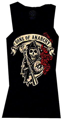 Sons Of Anarchy Rose Reaper Samcro Officially Licensed Junior Tank Top Shirt 2XL (Sons Of Anarchy Shirt)