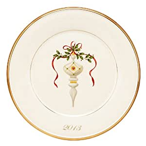 Lenox Holiday 2013 Annual Accent Plate