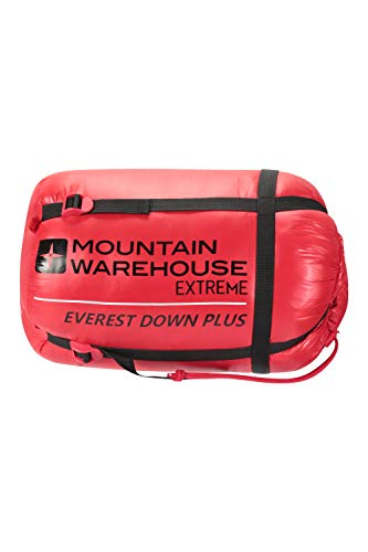 Mountain Warehouse Saco de Dormir Extreme Everest Plus - Ligero ...