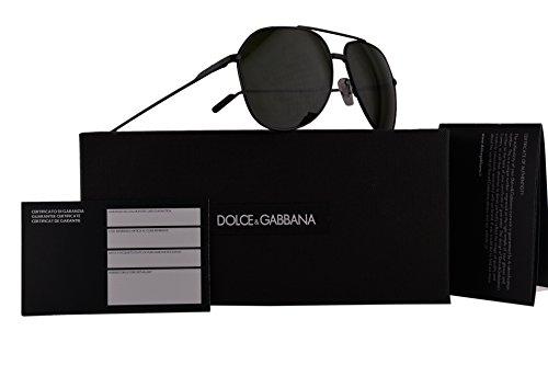 Dolce & Gabbana DG2166 Sunglasses Shiny Black w/Grey Green Lens 0171 DG - Gabbana Sale Mens Dolce And