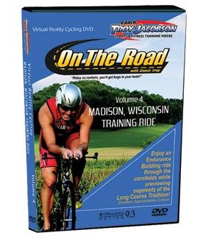 (Spinervals Virtual Reality 4.0 Madison Training Ride DVD)