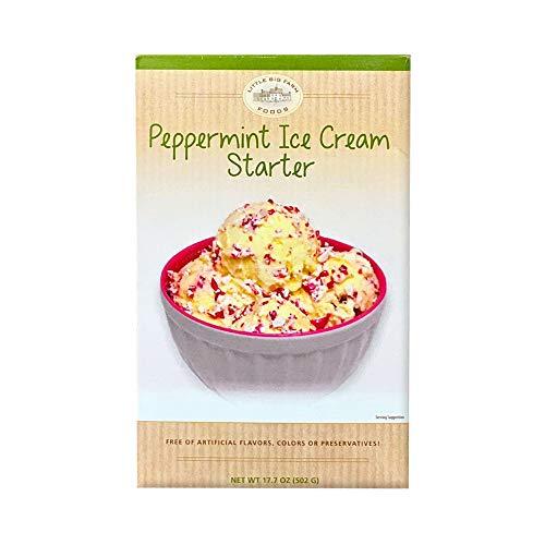 peppermint ice cream - 1