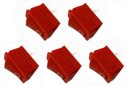Porter Cable C2002/C2004 Compressor OEM Replacement (5 Pack) Rocker Switch # N001415-5pk
