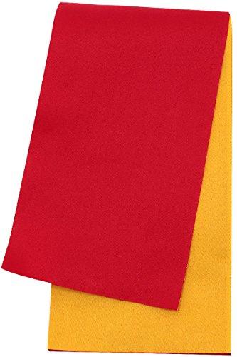 激怒巧みな茎《ネコポス対応》(キステ)Kisste リバーシブル半巾帯 ゆかた用 <長尺> ポリエステル100% <日本製> 5-8-00673