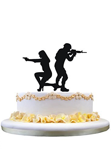 Amazon Com Wedding Cake Topper Funny Wedding Cake Topper Bride