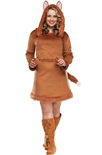 [Mememall Fashion Foxy Lady Plus Size Halloween Costume] (Adult Lady Liberty Plus Size Costumes)
