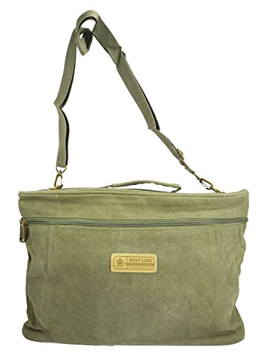 Green For Fits Size Bag Chaussmaro All Green Man Shoulder One f0EE8tx