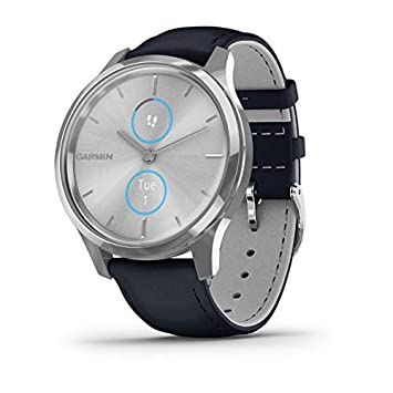 Garmin Vivomove Luxe Smartwatch Hybrid Analógico Digital Unisex ...