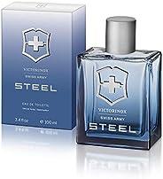 Swiss Army Victorinox Swiss Army Steel for Men 3.4 oz EDT Spray