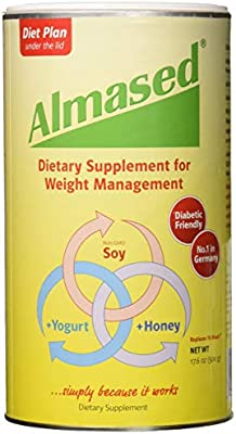 Amazon.com: Almased Meal Replacement Shake - Plant Based Protein Powder for Weight Loss - Gluten-free, Non-GMO 17.6 oz (3 Pack): Health & Personal Care