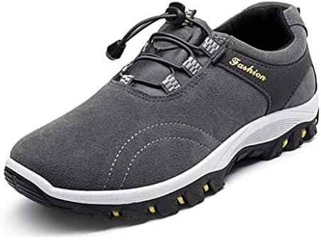 トレッキングシューズ アウトドア 軽量 防滑 スニーカー ローカット ウォーキングシューズ メンズ 登山靴 通気性 衝撃吸収 耐磨耗 ハイキング スリッポン 履きやすい 幅広 運動靴 黒 イエロー ブルー