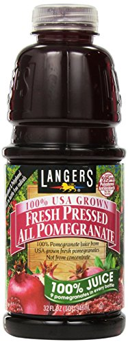 (Langers All Pomegranate 100 Percent Juice, 32 Fluid Ounce)