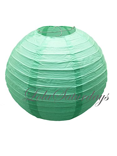 UPC 754235182498, LolaSaturdays Paper Lanterns - 12 Pack Mint