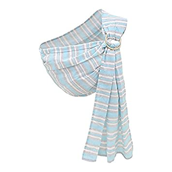 e7b827ceef0 Amazon.com   Cuby Ring Sling Baby Carrier - Extra Soft Lightweight Cotton  Baby Slings for Newborn