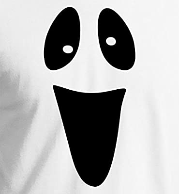Funny Ghost Face Halloween T-Shirt