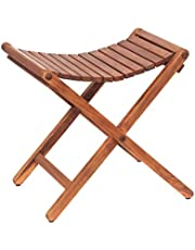 AsinoX Tek 601 klapkruk, hout, bruin, 46 x 41 x 46 cm