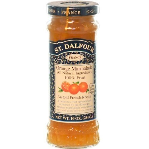 Charles Jacquin-St.Dalfour Consrv, Orng Mrm, 100%Fruit, 10-Ounce (Pack of 6) ( Value Bulk Multi-pack) by St Dalfour