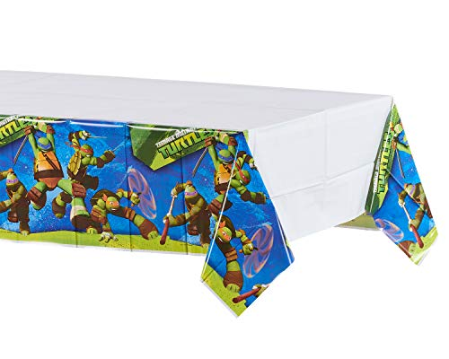 American Greetings Teenage Mutant Ninja Turtles Table Cover, 54