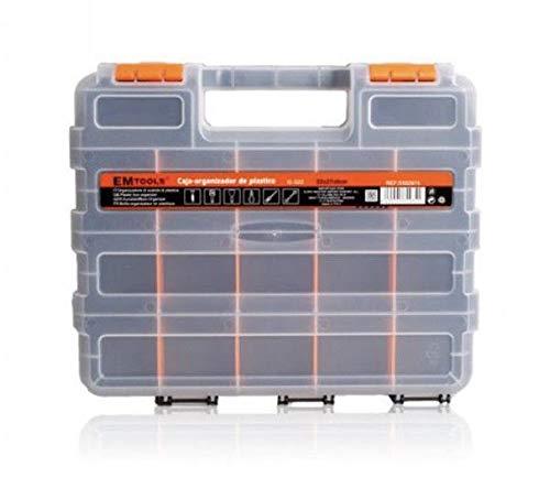 77 Caja de Almacenamiento de pl/ástico de Port/átil de Mano Tornillo electr/ónico componente Organizador Soporte con divisores Ajustables,Vario compartimentos