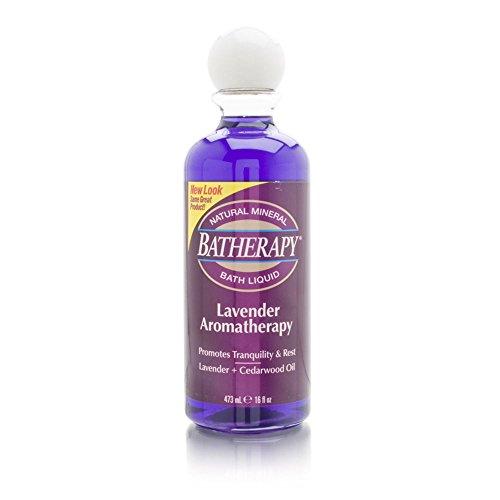 Batherapy Mineral Bath Liquid, Lavender, 16 (Batherapy Lavender Liquid)