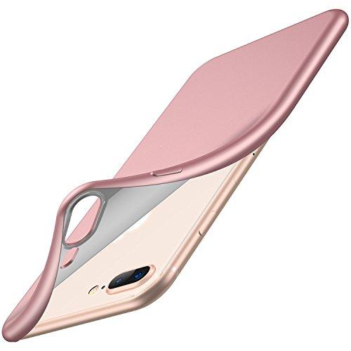 RANVOO iPhone 8 Plus Case, iPhone 7 Plus Case, [Aurora Series] Soft TPU Case Ultra Thin Slim Fit Anti-Fingerprint Rubber Cover, iPhone 8 Plus Case/iPhone 7 Plus Case 5.5 Inch, ()
