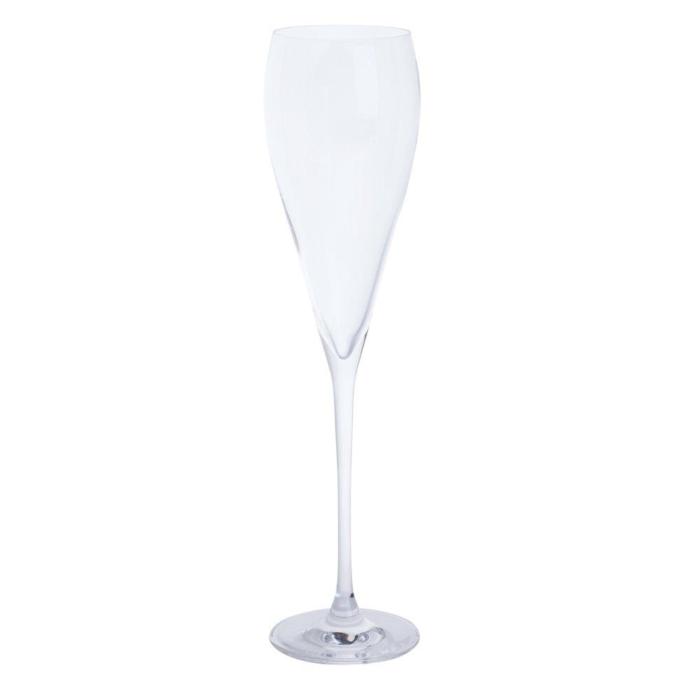 """6,5/x 6,5/x 28/cm Prosecco-Glas /""""Just The One/"""" von Dartington Kristall"""