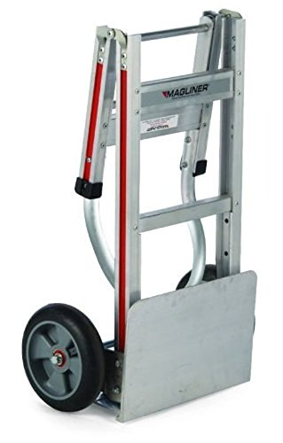NEW-Silver-AluminumMagnesium-Folding-Hand-Truck-Two-Wheeler-Magliner-Tool