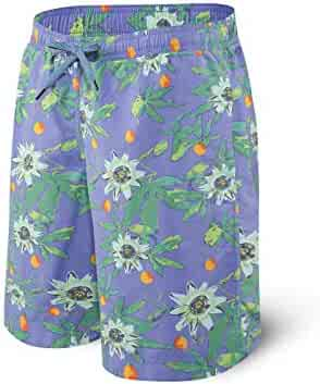 pretty-gentle52654 Couple Board Shorts Swimming Trunks Liner Joggers Running Sweat Swimsuit Beach Surfing