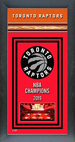 Toronto Raptors Framed NBA Championship Banner ()