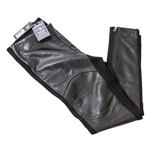 Nero Skinny Pantalone Donna Leather Woolrich Wwpan1209 UqAxCn1