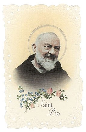 - St. Padre Pio Vintage Replica holy card
