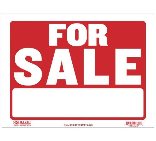 Bazic S 1 BAZIC Sale Sign
