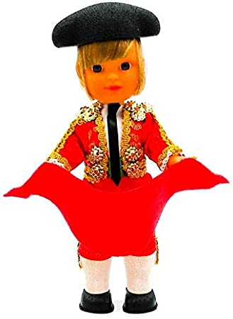 Folk Artesanía Muñeco Regional colección de 25 cm con Vestido típico Torero, Fabricado en España: Amazon.es: Juguetes y juegos