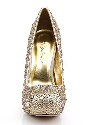 Champagne Fabulicious Felicity Mujer De 20 Vestir Para Satin Zapatos nBaOw0qB6U