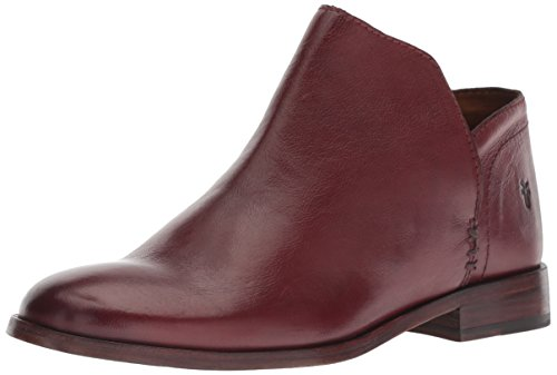 FRYE Women's Elyssa Shootie Ankle Boot, red Clay, 8.5 M US