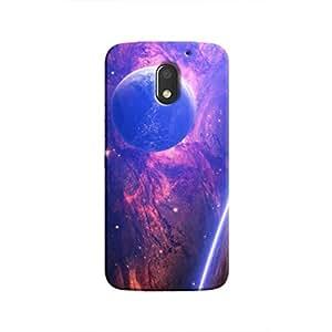 Cover It Up - Bright Planet View Moto E3 Hard Case
