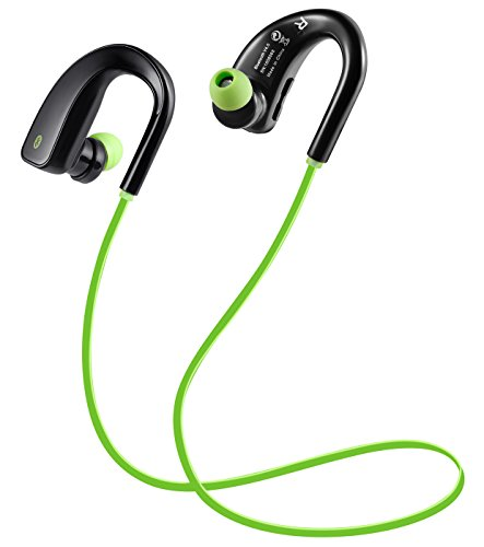 Wireless Earbuds with Mic,Bluetooth Headphones,Noise Cancelling Earphone,HD Stereo Sports Headset for iPhone / Samsung / Android / Smartphones