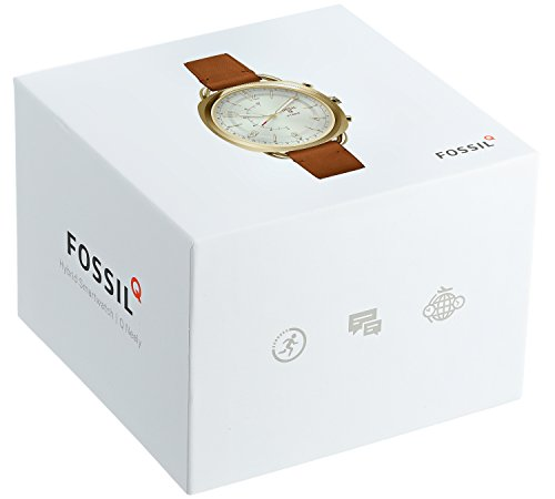 Fossil Hybrid Smartwatch - Q Accomplice Sand Leather FTW1201 by Fossil (Image #3)