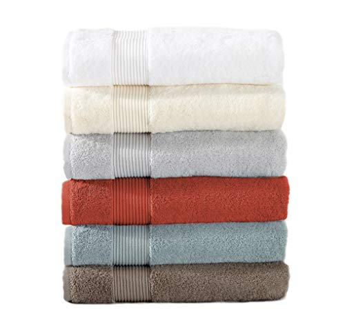Great Bay Home 2-Pack Luxury Hotel/Spa 100% Turkish Cotton Washcloths, 600 GSM. Includes 2 Washcloths. Melanie Collection By Brand. (Washcloths (2x), Steel Grey) by Great Bay Home (Image #6)