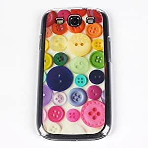YULIN Teléfono Móvil Samsung - Cobertor Posterior - Gráfico/Diseño Especial/Transparente - para Samsung S3 I9300 ( Multi-color , Plástico )