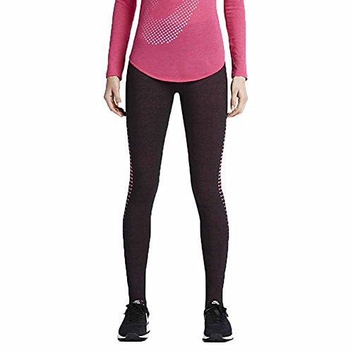 Nike Burnout Collants de Legging Noir/rose